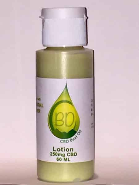 cbd oil lotion with colloidal silver
