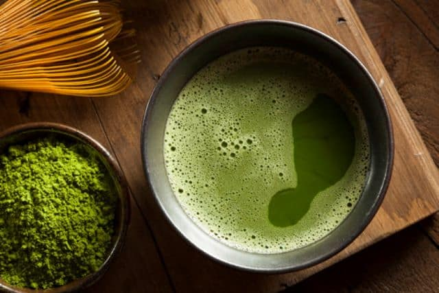 the benefits of drinking green tea before working out