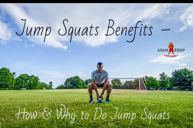 jump squats benefits and how to do jump squats