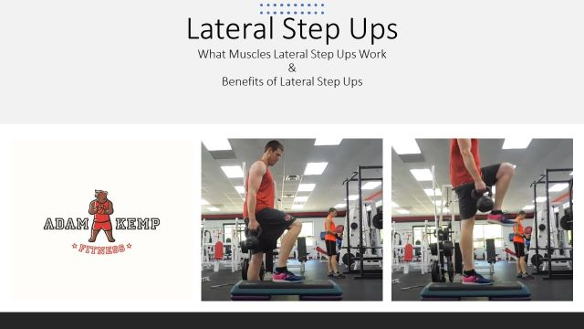 Lateral Step Ups Exercise Benefits